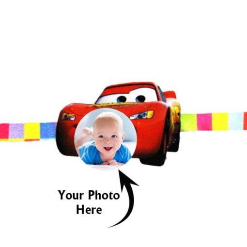 Customized Photo Rakhi Car