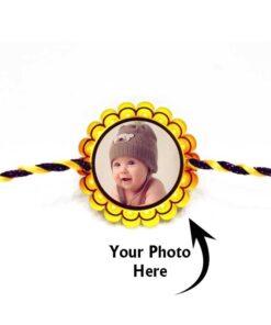 Customized Photo Rakhi Round Kids