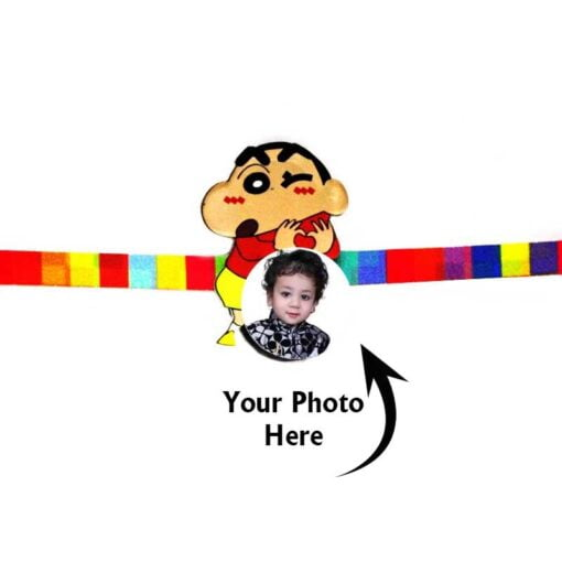 Customized Photo Rakhi Shinchan