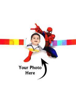 Customized Photo Rakhi Spiderman