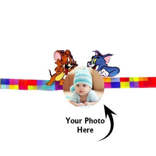 Customized Photo Rakhi Tom and Jerry