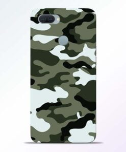 Army Camo Oppo A11K Mobile Cover - CoversGap