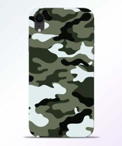 Army Camo iPhone XR Mobile Cover