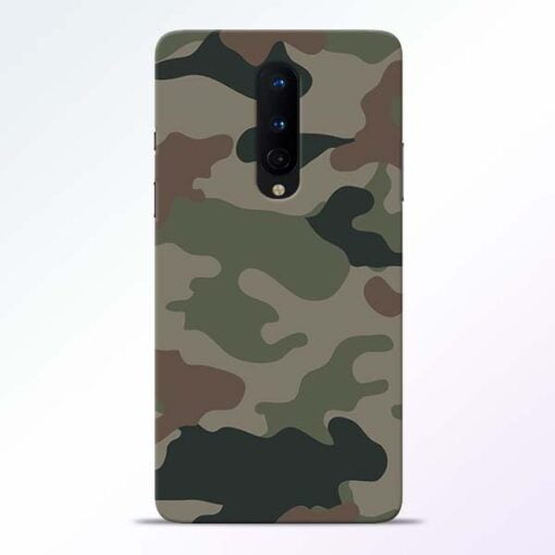 Army Camouflage OnePlus 8 Mobile Cover
