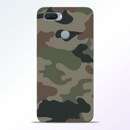 Army Camouflage Oppo A11K Mobile Cover - CoversGap