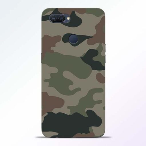 Army Camouflage Oppo A12 Mobile Cover - CoversGap