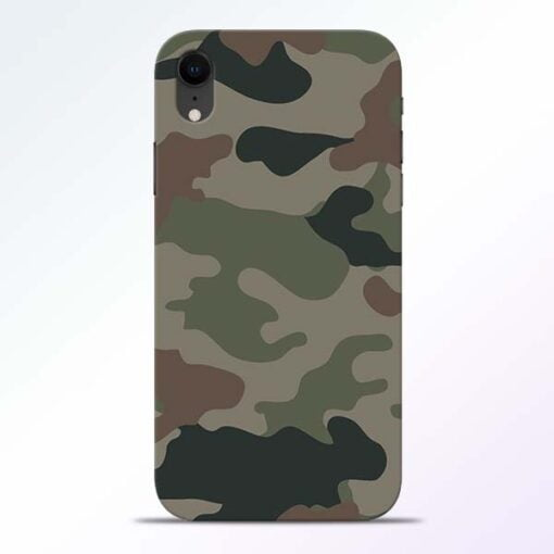Army Camouflage iPhone XR Mobile Cover