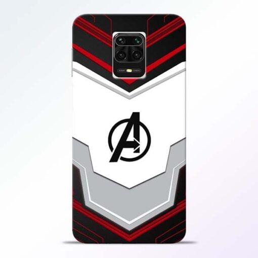 Avenger Endgame Redmi Note 9 Pro Max Mobile Cover