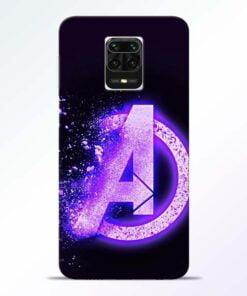 Avengers A Redmi Note 9 Pro Max Mobile Cover
