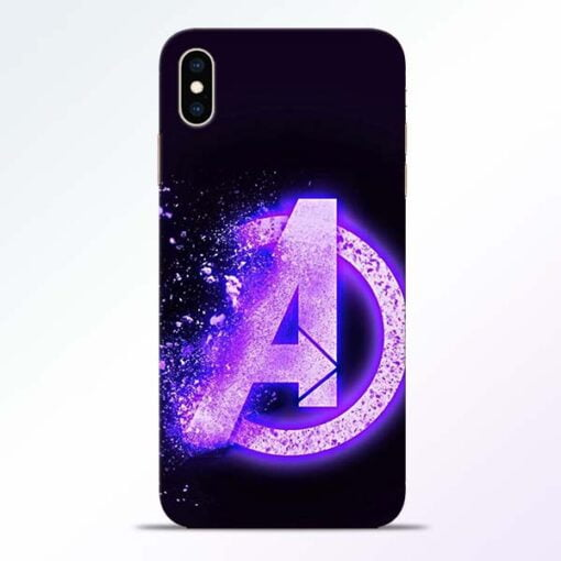 Avengers A iPhone XS Max Mobile Cover