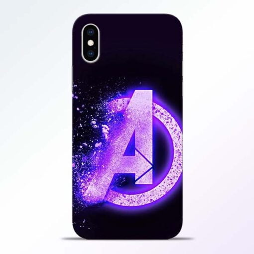 Avengers A iPhone XS Mobile Cover