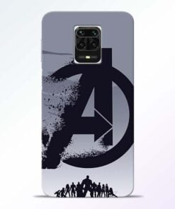 Avengers Team Redmi Note 9 Pro Max Mobile Cover