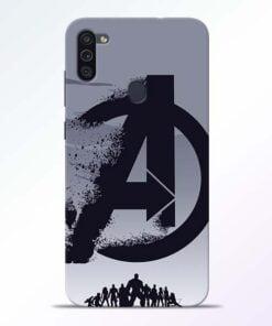 Avengers Team Samsung M11 Mobile Cover - CoversGap