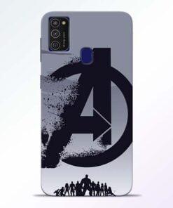 Avengers Team Samsung M21 Mobile Cover