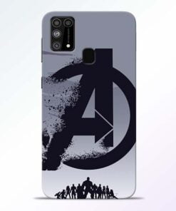 Avengers Team Samsung M31 Mobile Cover
