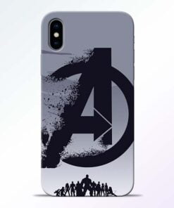 Avengers Team iPhone X Mobile Cover