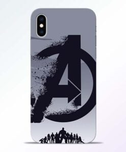 Avengers Team iPhone XS Mobile Cover