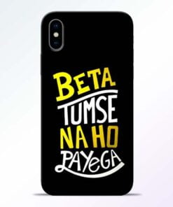 Beta Tumse Na iPhone X Mobile Cover