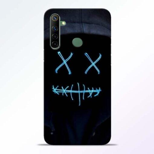 Black Marshmello Realme 6i Mobile Cover - CoversGap