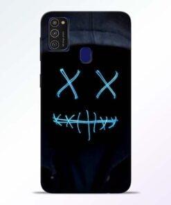 Black Marshmello Samsung M21 Mobile Cover