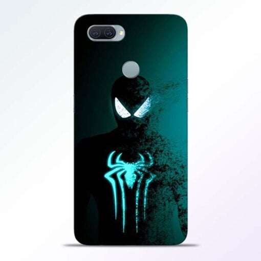 Black Spiderman Oppo A11K Mobile Cover - CoversGap