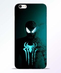 Black Spiderman iPhone 6 Mobile Cover