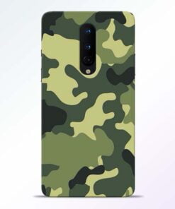 Camouflage OnePlus 8 Mobile Cover