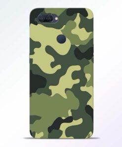 Camouflage Oppo A12 Mobile Cover - CoversGap