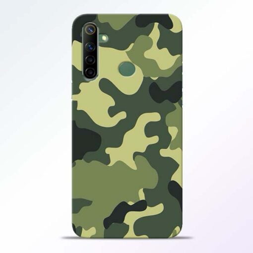 Camouflage Realme 6i Mobile Cover - CoversGap