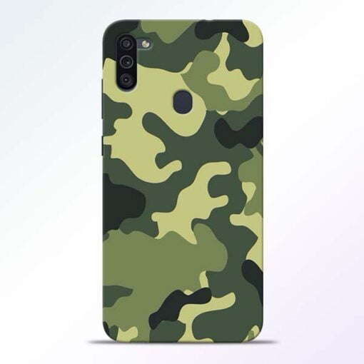 Camouflage Samsung M11 Mobile Cover - CoversGap