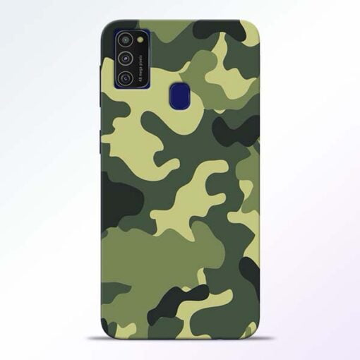 Camouflage Samsung M21 Mobile Cover