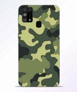 Camouflage Samsung M31 Mobile Cover