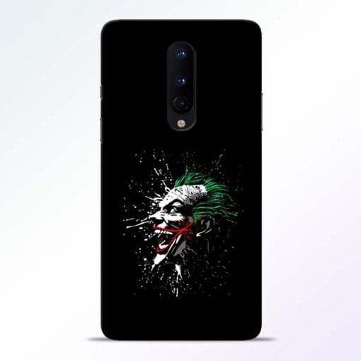 Crazy Joker OnePlus 8 Mobile Cover