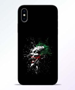 Crazy Joker iPhone X Mobile Cover
