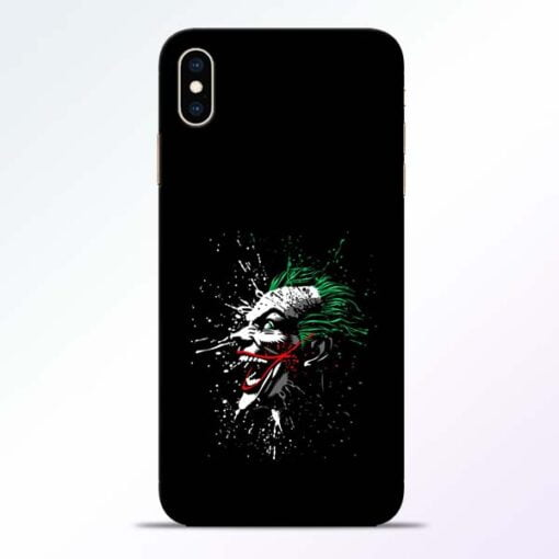 Crazy Joker iPhone XS Max Mobile Cover