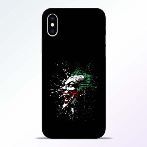 Crazy Joker iPhone XS Mobile Cover
