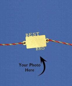 Customize Photo Rakhi Best Bro