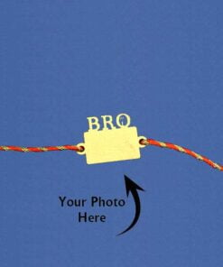 Customize Photo Rakhi Bro