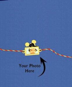 Customize Photo Rakhi Mickey