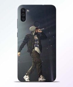 Eminem Style Samsung M11 Mobile Cover - CoversGap