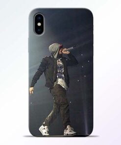 Eminem Style iPhone X Mobile Cover