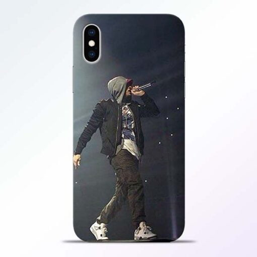Eminem Style iPhone XS Mobile Cover