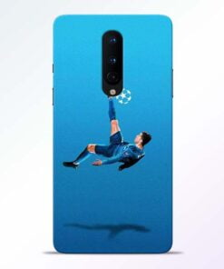 Football Kick OnePlus 8 Mobile Cover