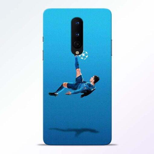 Football Kick OnePlus 8 Mobile Cover