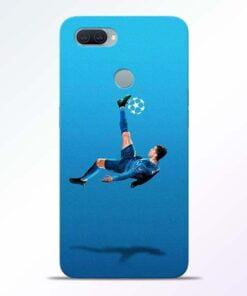 Football Kick Oppo A11K Mobile Cover - CoversGap