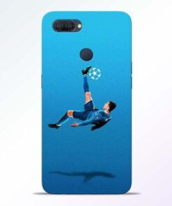 Football Kick Oppo A12 Mobile Cover - CoversGap
