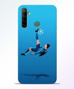 Football Kick Realme 6i Mobile Cover - CoversGap