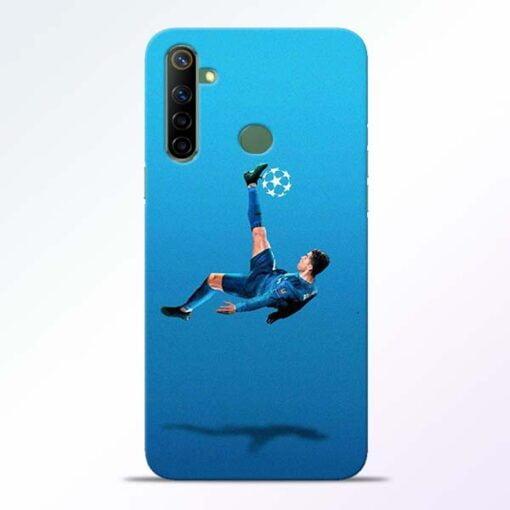 Football Kick Realme 6i Mobile Cover - CoversGap