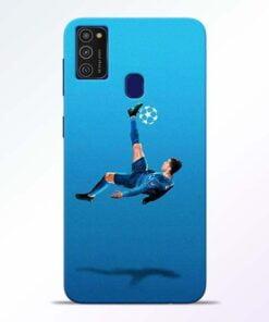 Football Kick Samsung M21 Mobile Cover