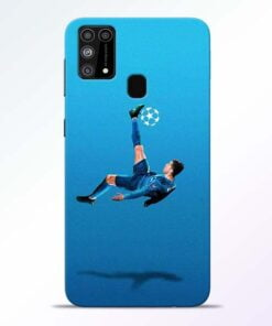 Football Kick Samsung M31 Mobile Cover
